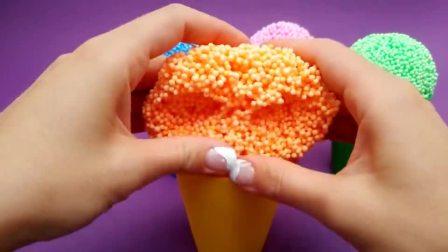 美珠粒粒冰淇淋魔力变小猪佩奇系列玩具,循环创意激发宝宝创造力