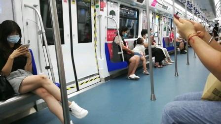 深圳地铁7号线小清新编号733皇岗口岸-笋岗