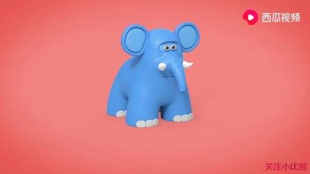益智宝贝:儿童玩具中认知卡片动物,宝宝真聪明