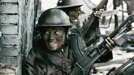 抗日战争片:鬼子攻入常德,中国军人展开巷战,战斗至最后一人
