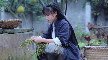李子柒令人心酸的苦难童年,造就了她吃苦耐劳的性格