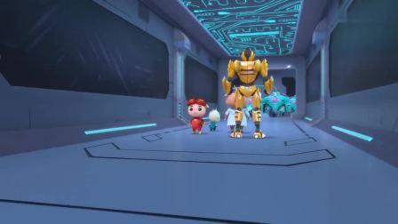 猪猪侠:强攻星盟总部太难了,普利斯都差点被抓,这下怎么办