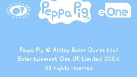 小猪佩奇 peppa pig 粉红猪小妹 佩奇的披萨制作成功了吗?陌上千雨解说