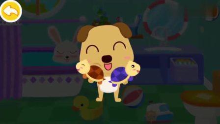 宝宝巴士:爸爸不许兔一一吃冰淇淋很伤心,奇奇带她玩拔萝卜游戏