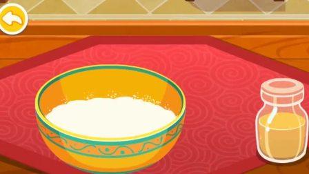 把蜂蜜放碗里,是要制作什么好吃的呢?宝宝巴士游戏