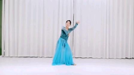 古典舞《风飘絮》正背面演示及口令分解    编舞 郭青天    演绎 花儿
