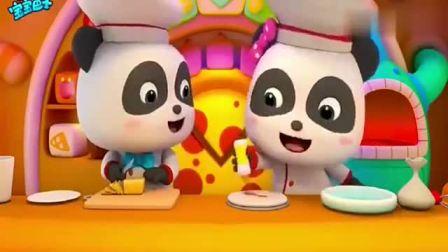 宝宝巴士:琦琦妙妙一起做披萨,看起来好美味呀