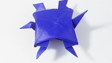 手工折纸乌龟教程