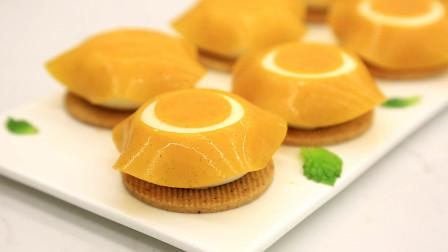 枫糖芒果一口食:学做果冻裙边