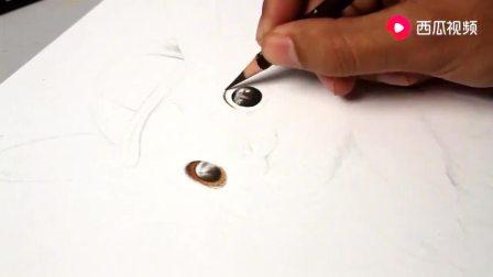 彩铅手绘过程 — 皮卡丘