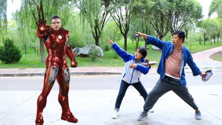 荒野行动,学生用可乐泡腾片做出可乐喷泉,变成了钢铁侠