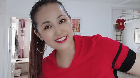 好心情蓝蓝广场舞原创【211】网络火爆舞曲【乘风破浪的小姐姐正背面】附教学