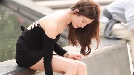 街拍炎炎夏日,极品美女的穿搭,各个身材高挑漂亮