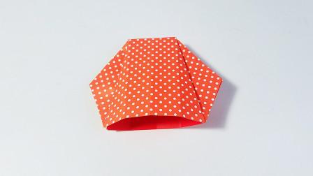 教你折纸贝壳,海洋动物系列折纸,儿童很喜欢