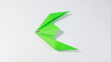 教你折纸热带鱼2,海洋动物系列折纸,儿童很喜欢
