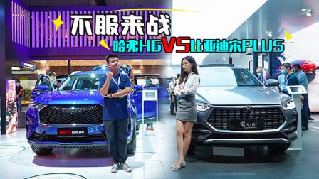 成都车展现场PK 第三代哈弗H6 VS 比亚迪宋PLUS到底谁更强-网上车市
