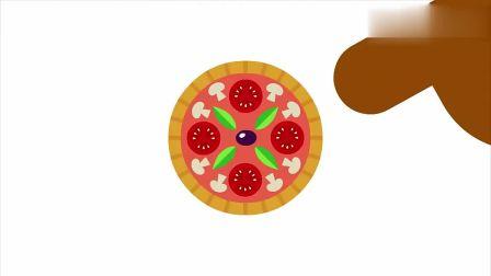 嗨道奇:阿奇教大家做披萨,形状很怪异,但味道很不错