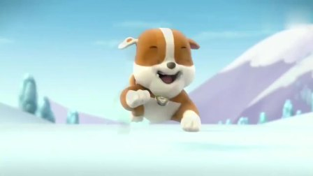 汪汪队:披萨车掉到湖冰上了,不能送货,狗狗们这下没吃的了
