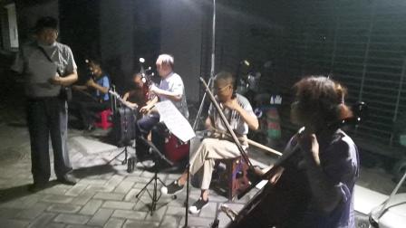 武汉广场民族乐器演奏