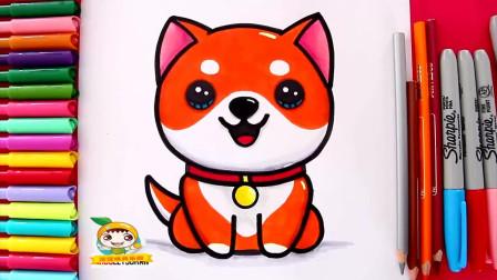 手工绘画 动手画一只可爱的小宠物狗