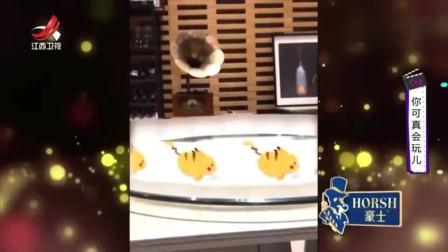 家庭幽默录像:给普通的皮卡丘加一个表情包,来来来,憋笑大王来一下!