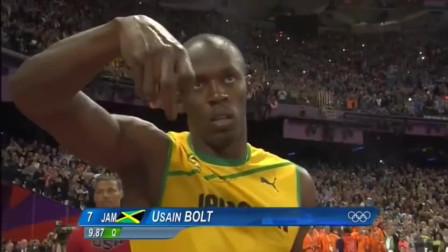 回顾伦敦奥运男子百米决赛:百米五虎齐聚伦敦,迄今百米最牛一战!博尔特还打破北京奥运会自己创下的记录