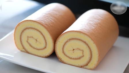 老虎皮瑞士蛋糕卷,好吃又好看,做起来又简单,旅行居家必备