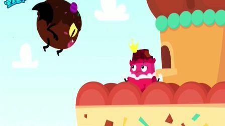 宝宝巴士:美食总动员巧克力王子救美人,快围观