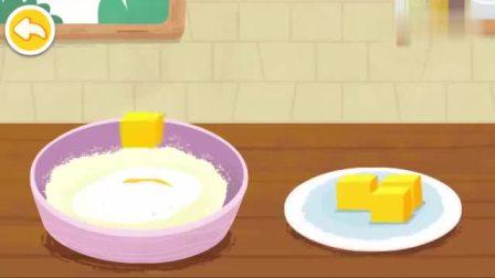 宝宝巴士:面包做好了,真是香气扑鼻呀,真的好想吃一口呀