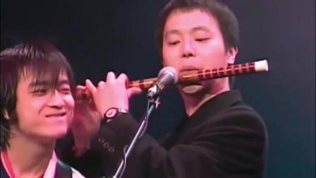 """窦唯1994年红磡演唱会,笛子伴奏这幕才是他封""""仙""""的由来"""