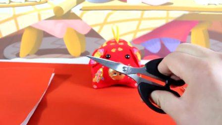 啥是佩奇 小猪佩奇是剪纸窗花 是幸福 鳕鱼乐园陪你过春节