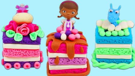 制作可爱的玩偶蛋糕
