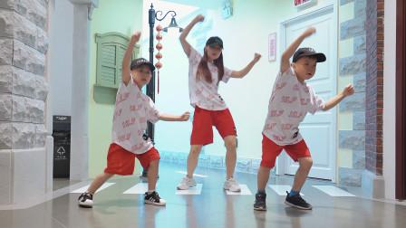 幼儿园小朋友街舞展示 厉害了!