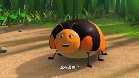 萌鸡小队:松鼠嘲笑虫子,虫子忍不住放屁,大家赶紧捂住松鼠嘴