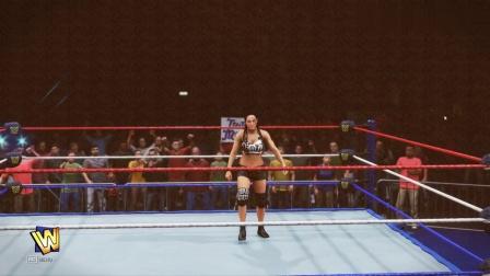 wwe2020模拟: 美国职业摔跤比赛娱乐! 女子赛!