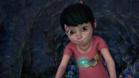 熊出没:萤火虫太神奇了,帮助赵琳找到出口,像是有人性
