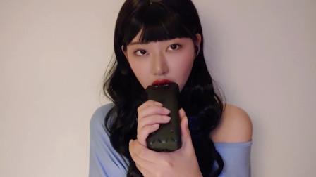 [ASMR류최희]韩国小姐姐的手持麦克风吃音,口腔音助眠
