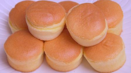 1碗面粉,5个鸡蛋,教你做戚风纸杯小蛋糕,松软香甜,比买的好吃
