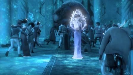 第七个小矮人:女巫把大家都给冻住了,却突然感觉,无聊到想