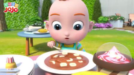 超级宝贝:花生酱加上香蕉,超好吃你喜欢吃嘛