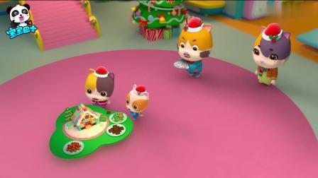 宝宝巴士儿歌:谁吃了姜饼屋?启蒙认知圣诞的元素姜饼人、姜饼屋