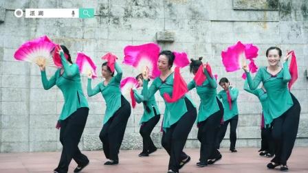 派澜陈敉拓指导,沙尾校区#中国舞#班学员户外翻跳全网豪横感最强的#抬龙王#😍 真的是唢呐一出,必有惊喜