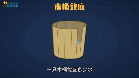 木桶效应的物理原理,原来如此