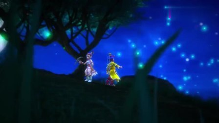 糟糕!妖怪偷袭龙太子和飞燕女,并将两人包围了!