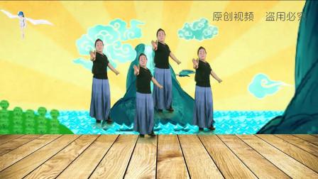 最新原创广场舞《又见雪花飞》歌声大气悠扬,简单又好看
