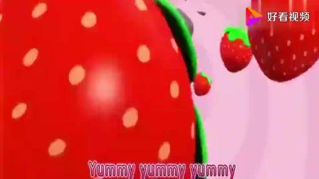 宝宝巴士:小朋友们快乐地吃着蛋糕,蚂蚁背着小蛋糕,很努力!