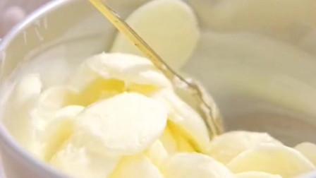 棉花糖牛奶相结合竟能变成冰淇淋,你有试过吗,有惊喜哦!