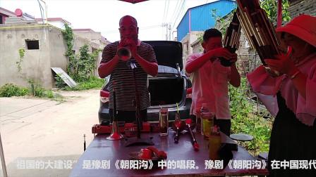 唢呐高人演奏豫剧《朝阳沟》,永远的经典,听着真是美!
