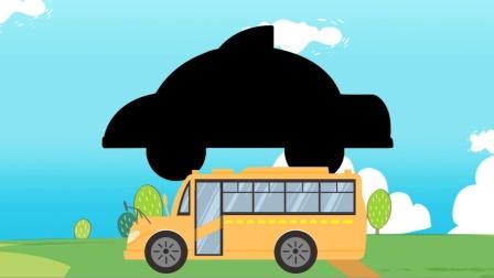 认识出租车、救护车、校车、警车、公交车等交通工具