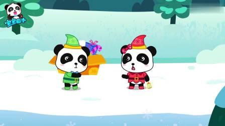 宝宝巴士欢乐圣诞:忙碌的圣诞节小女巫,变出礼物分享快乐好有爱